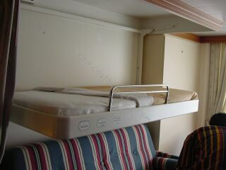 disney cruise ceiling bed