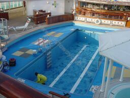 Disney Cruise Wonder Crew Pool